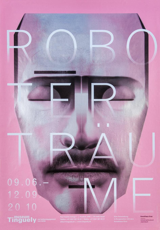 Museum Tinguely, ‹Roboterträume› Plakte