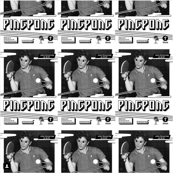 PingPong im 1. Stock
