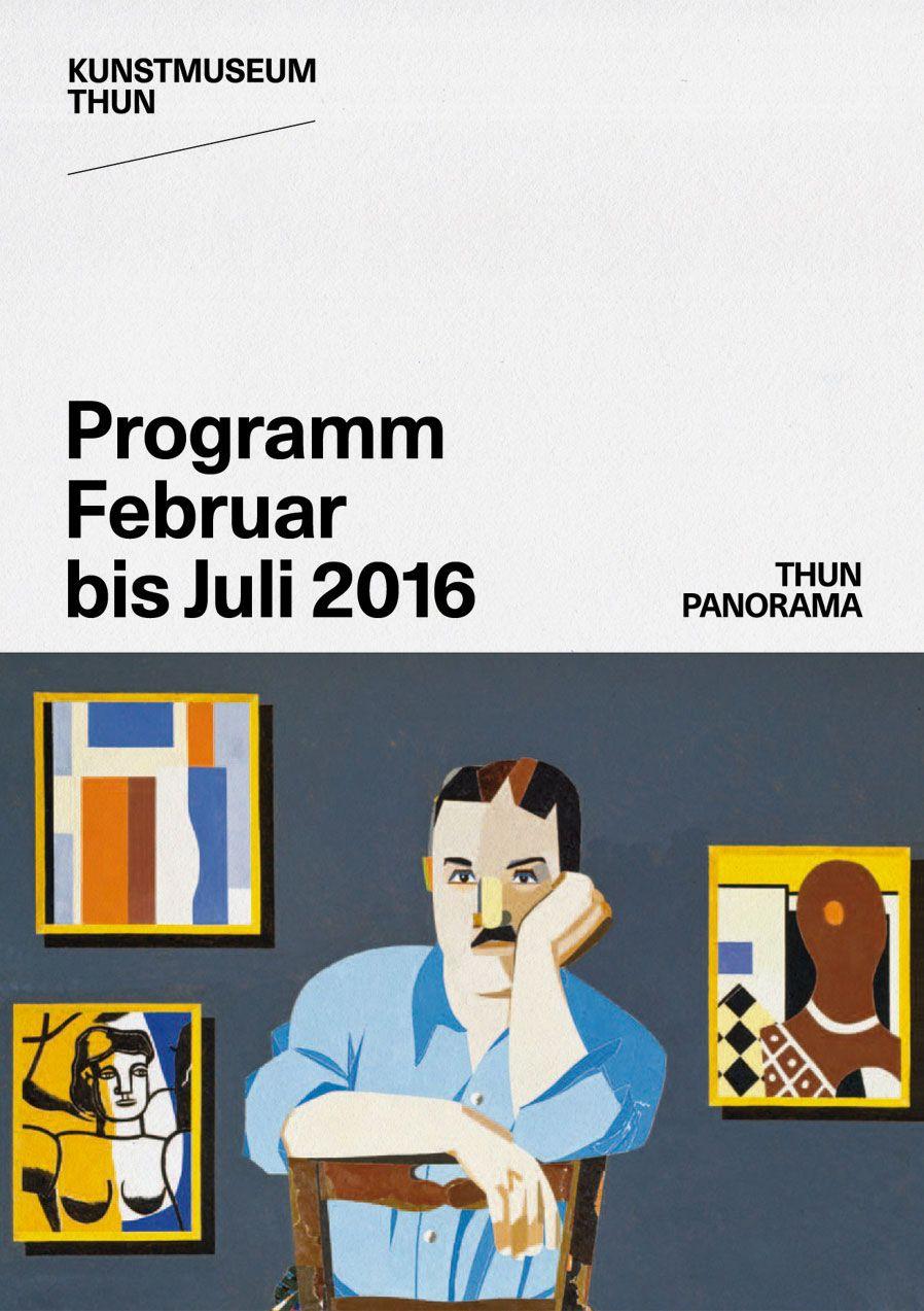 Programmheft Kunstmuseum Thun, 2016