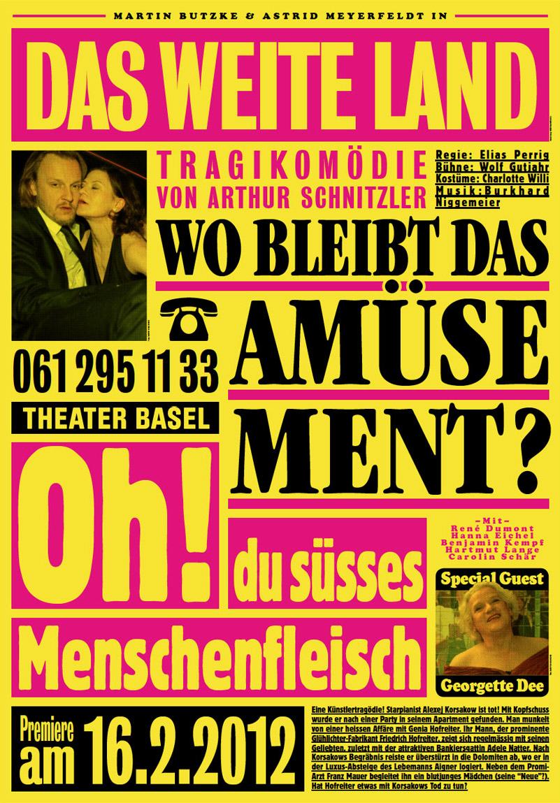 Das weite Land, Theater Basel Schauspiel
