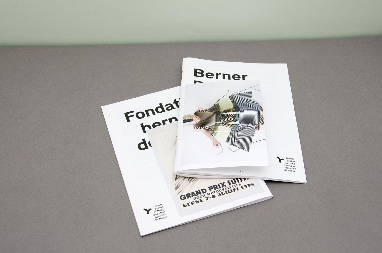 Jahresbericht Berner Design Stiftung