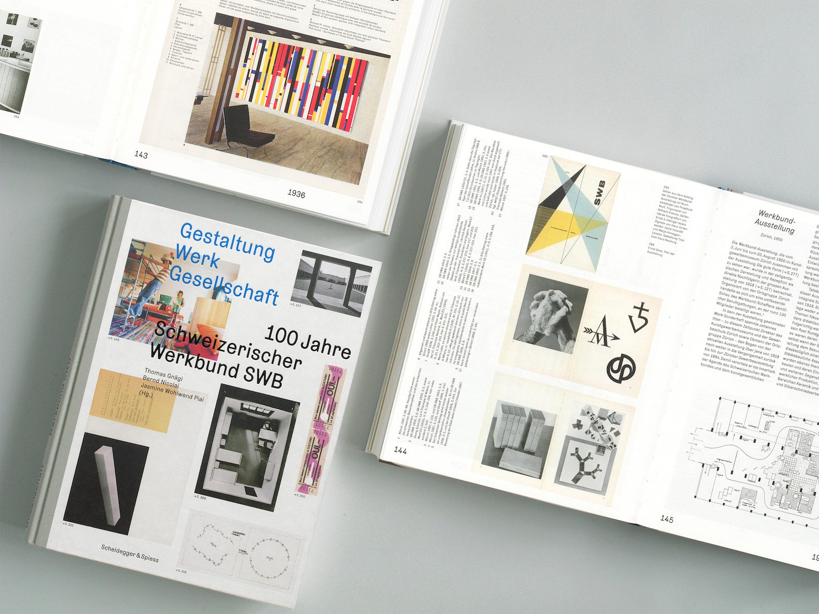 Gestaltung, Werk, Gesellschaft – 100 Jahre Schweizerischer Werkbund SWB