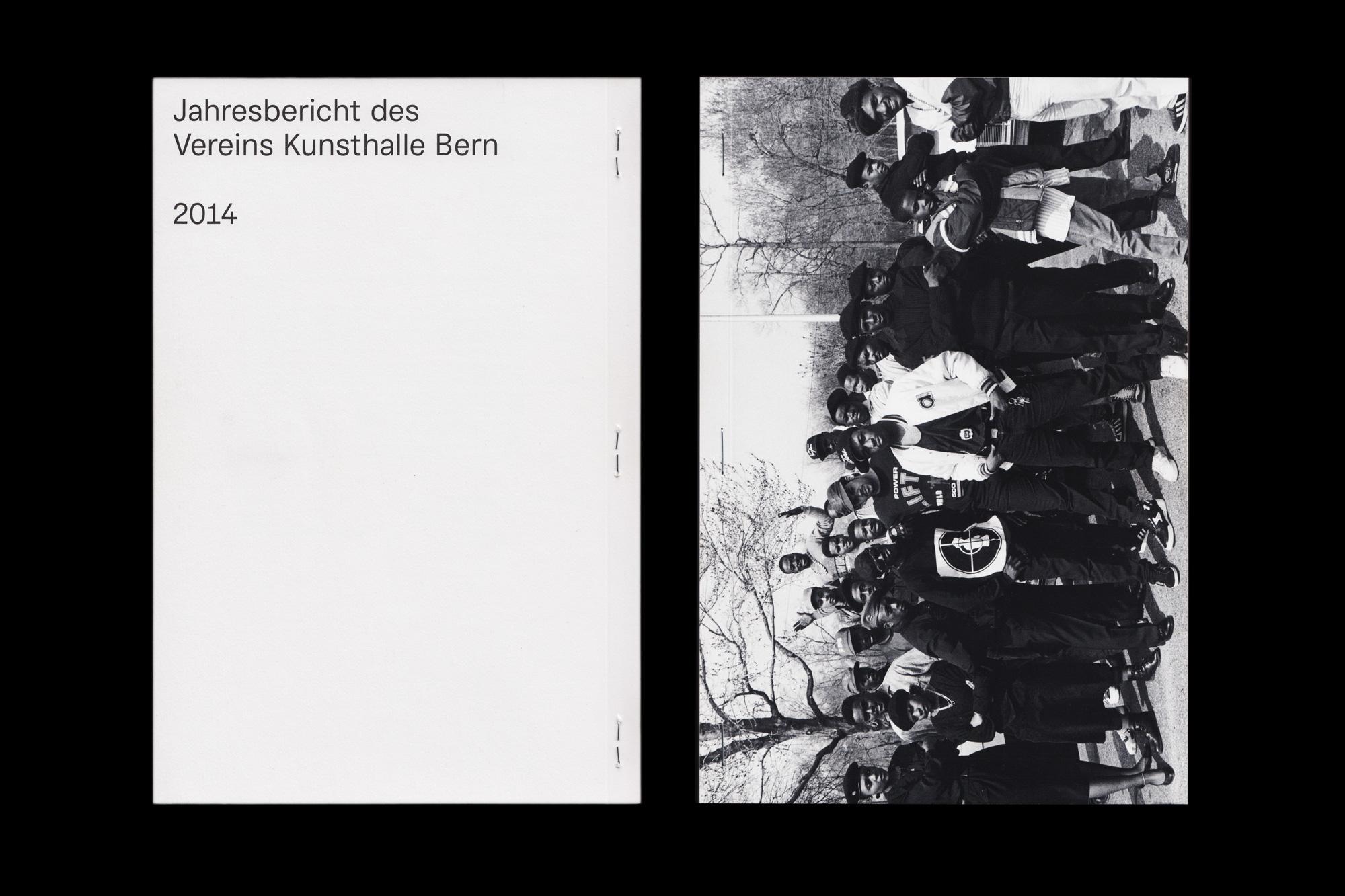 Jahresbericht Kunsthalle Bern